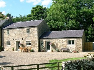 Luxury holiday cottage set in idyllic unique location close to Hadrian's Wall.
