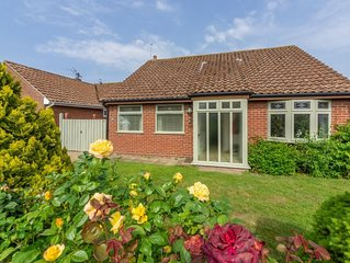 Comfortable bungalow with sunny conservatory is a fantastic bolthole for couples