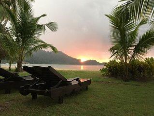 Private Beachfront villa at Siam Royal view