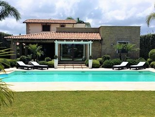 Villa Jaime a Partinico, in Sicilia occidentale, con piscina, 3 camere da letto,