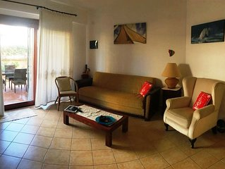 Cozy apartment in Palau 5min walk to the beach.