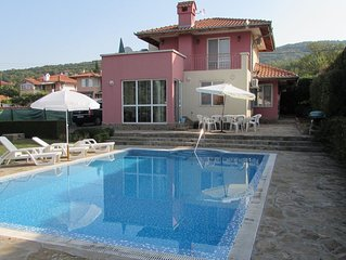 Villa In Almond Hills, Nr. Kosharitsa,  With Own Large 10m X 5m Private Pool