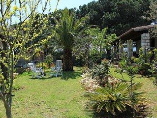 Villa di campagna vicino al mare con giardino