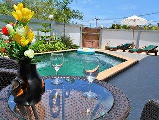 Sitara Villa 1, two bedroom modern style villa with private pool & garden
