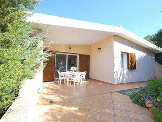 villa con vista mare in residence (Rena Majore)