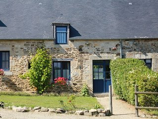 vieille maison renovee avec jardin