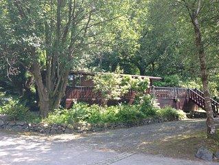 Lake District Log Cabin