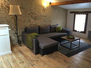 Appartement de charme avec terrasse ombragee