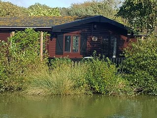The Lodge By The Lake, Shorefield Holiday Park. Now pet-friendly!