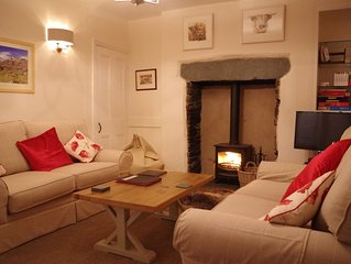 A traditional Miner's Cottage with lovely views in the popular Langdale valley