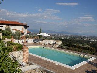 Appartamento in antica villa con piscina: ideale per relax e visita citta d'arte