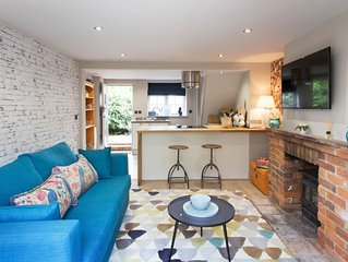 A beautifully renovated cottage offering luxurious accommodation for two in the