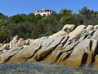 Casa con giardino a 50 metri dal mare