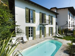 Newly renovated 3 bedroom luxury villa with stunning views over Lake Como