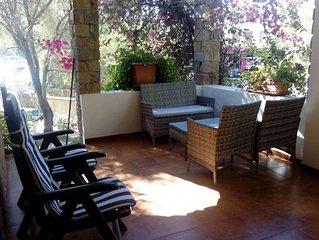 Bouganville -Appartamento in villetta,80m dal mare,terrazza e giardino,max relax