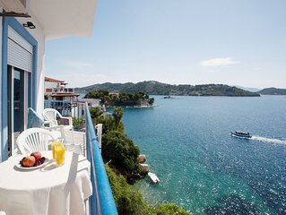 Apartment With Sea View Balcony In Skiathos Old Town