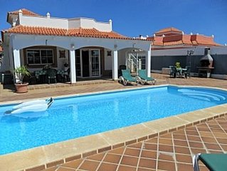 Villa with Private Heated Pool and Sea Views