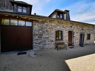 Charming and surprisingly spacious link-detached gîte on a converted farm