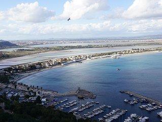Appartamento panoramico splendida vista sulla città (con WiFi free)