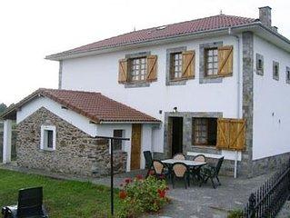 Casa rural (alquiler integro) La Fueya para 6 personas