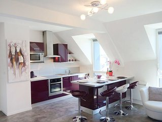 Lovely apartment for 4 people with WIFI, TV and parking