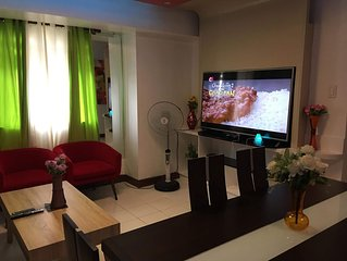 Davao City Camella Northpoint with CABLE tv & free WiFi 2