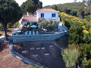 Charming, Unspoilt, Whitewashed Villa On the Sea With access to secluded Beach