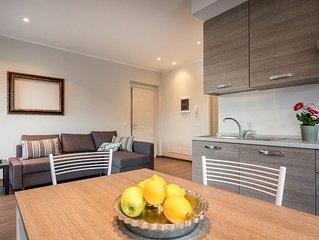 appartamento moderno affacciato direttamente sul lago di Como.