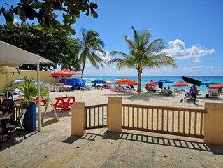 Carib Blue in the Gap