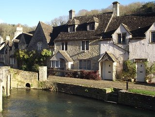 A picturesque 15th century three storey stone cottage fully equipped & furnished
