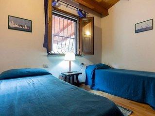 Cala Sapone, splendido appartamento vista mare e grande giardino privato