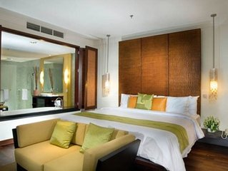 Luxury Nusa Dua Resort Penthouse, great beachclub, free wifi + kids club