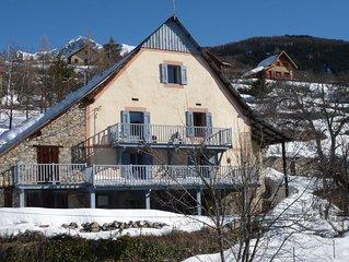 Grande Maison  cosy Val d'Allos