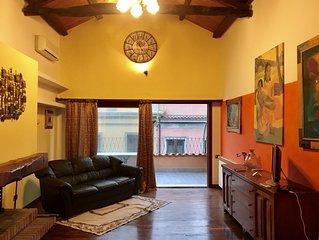 Elegante loft con soppalco e terrazza a livello, nel centro storico di Cagliari!