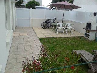 Maison,4 personnes, 600 m de la mer et plage  ,WIFI , bébé  ,vélos