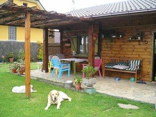 Preciosa casa de madera en el occidente de Asturias.