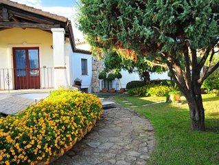 ' AUSTRO 'con giardino e porticato - Casa a 100 metri dal mare