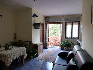 SARDEGNA – appartamento in villa immersa nel verde a 250 metri dal mare, Wi-Fi