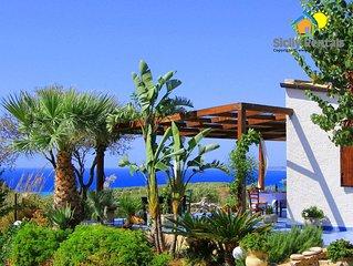 Deliziosa villa con splendida vista mare non lontana da spiagge meravigliose
