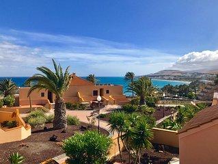 CASA BELLA Costa Calma 150m beach,with Garden, BBQ, WiFi Gratis