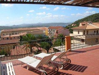 La Maddalena, Mansarda con grande terrazza panoramica
