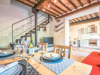 Beautiful apartment for 3 guests with TV and parking