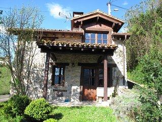 Casa rural en Picos de Europa para cuatro o cinco personas