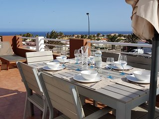 HIGHLY RATED and UPGRADED Villa with Panoramic Sea Views, free wifi!
