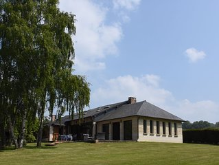 Maison normande proche Cabourg 6 chambres  pour 12 personnes a Periers en Auge