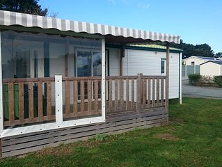 Camping de l'Auzance - Mobil home 35m² 2 ch avec terrasse