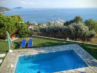 Beautiful Villa With Private Pool- Sea Views -Near To Beach and Village