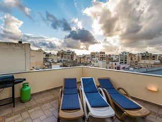 GetawaysMalta - Blue Waters Penthouse in Sliema