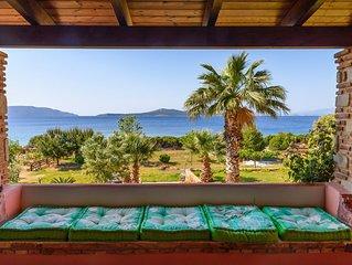 A Villa Just On The Beach