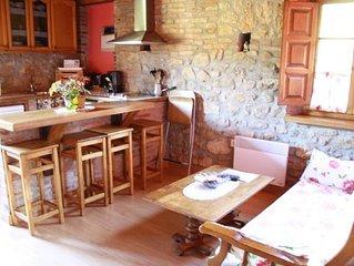 Aptos Rurales La Caviana para 4 adultos (camas matrimonio)